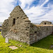 The abandoned St. Marys Church at Rousay, Orkney
