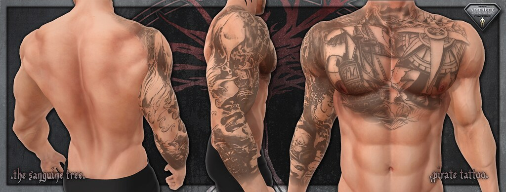[ new release - aesthetic pirate tattoo ] - SecondLifeHub.com