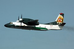 An-32 PNP-234 departing Lima