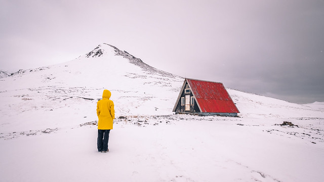 The red house - Iceland - Travel photography