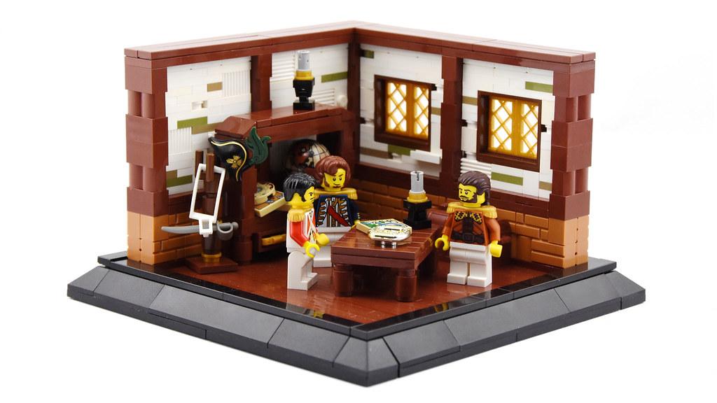 Lost City of Gold – Part 1 (custom built Lego model)