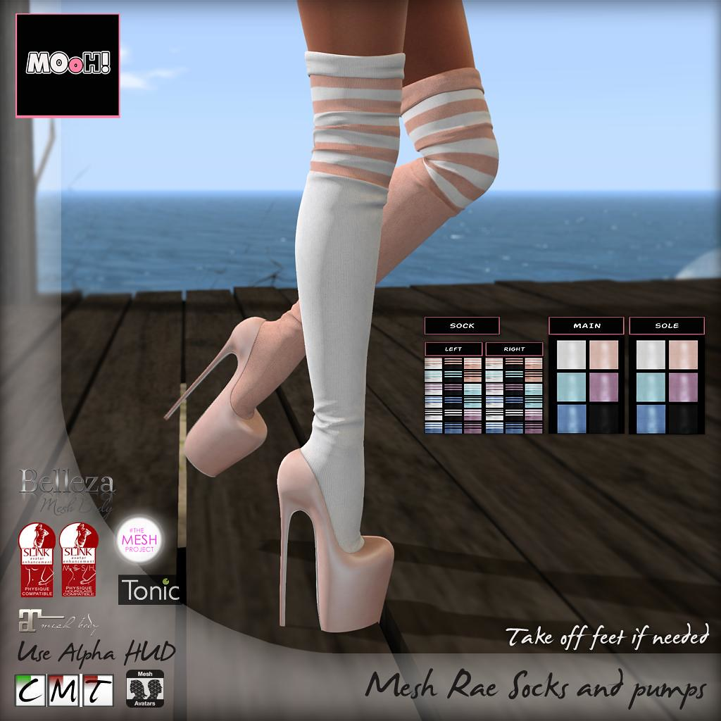 Rae socks and pumps - SecondLifeHub.com