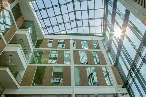 Bristol Business School atrium