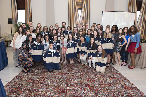 2017 - Blue and Gold Induction Ceremony Gallery