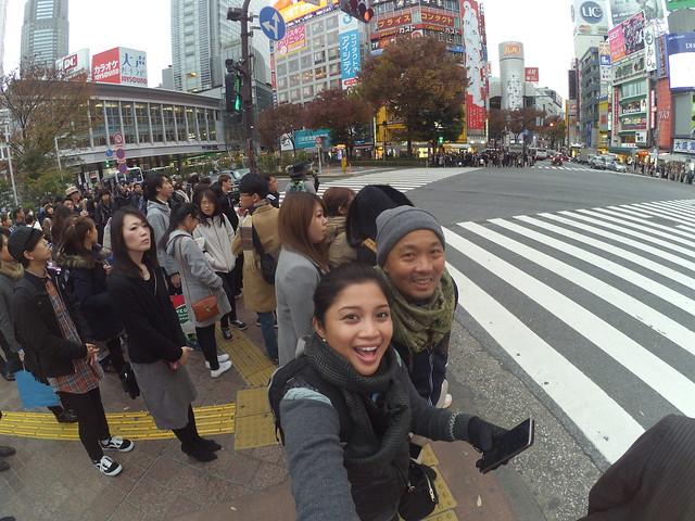 Shibuya crossing, Japan