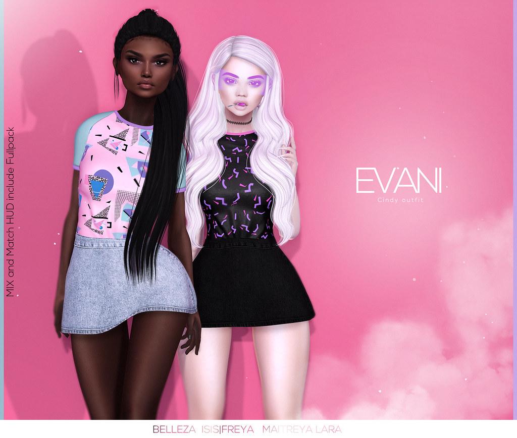 EVANI - Cindy outfit @ REWIND - SecondLifeHub.com