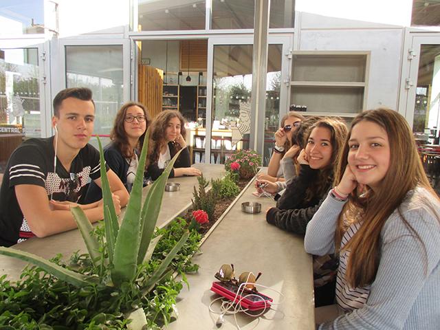 Επίσκεψη μαθητών της Α΄ Λυκείου στο Ίδρυμα Σταύρος Νιάρχος