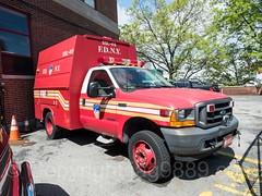FDNY Ladder 46 Second Supply Truck, Kingsbridge, New York City