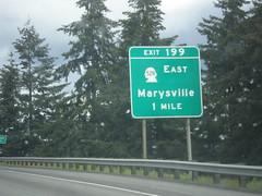 I-5 North - Exit 199