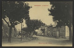 Montéléger - Le boulevard