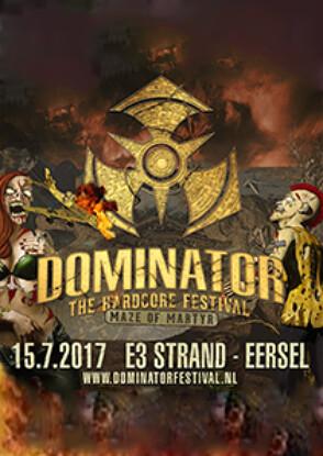 cyberfactory 2017 dominator hardcore festival e3 strand eersel nederland