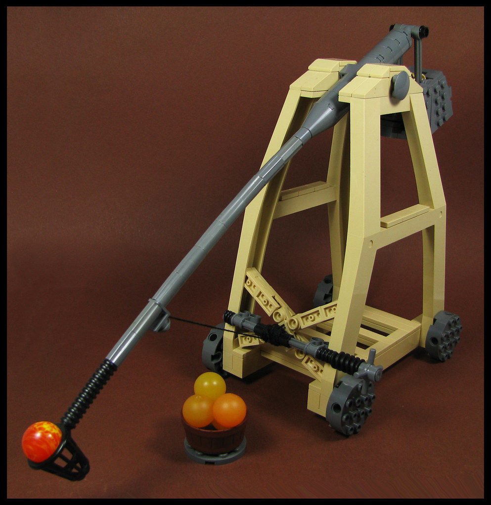 Trebuchet (custom built Lego model)