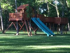 Bridged Ticonderoga to Tree Deck Playset
