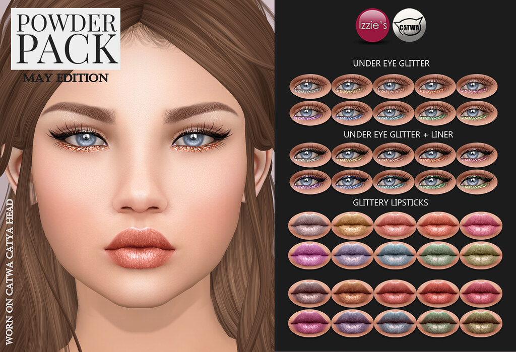 Powder Pack Catwa May Edition - SecondLifeHub.com