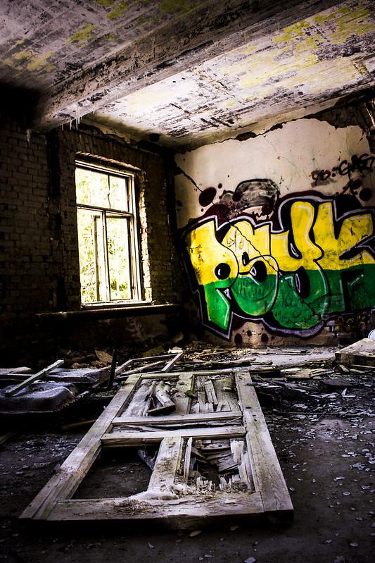 door ruin