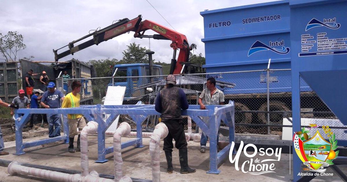 Chibunga ya cuenta con planta de agua potable