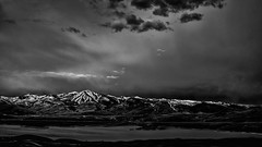 desolate two – park city, ut  back from jackson/tetons and the storms keep coming. what