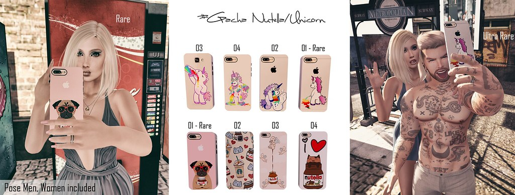[Frimon Store] #Gacha Nutella/Unicorn - 15L - SecondLifeHub.com