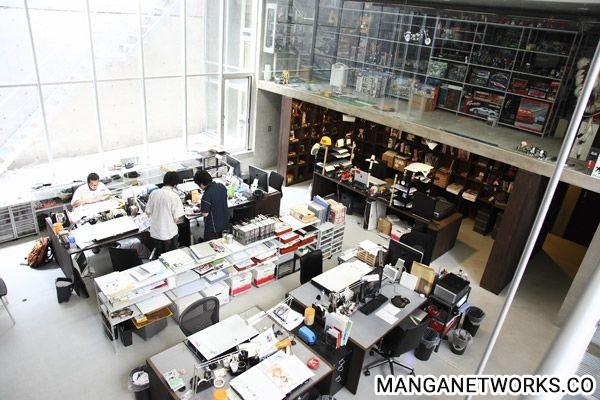 34746390951 b260cc9bd2 o Nơi làm việc của các Mangaka nổi tiếng sẽ như thế nào ?