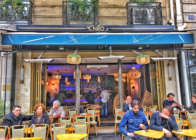 Paris France  ~  Neo Cafe ~  Terrace ~ St Germain ~ Restaurant