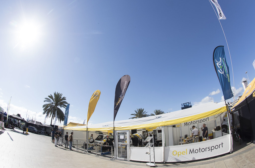 OPEL MOTORSPORT  during the 2017 European Rally Championship ERC Rally Islas Canarias, El Corte Inglés,  from May 4 to 6, at Las Palmas, Spain - Photo Gregory Lenormand / DPPI