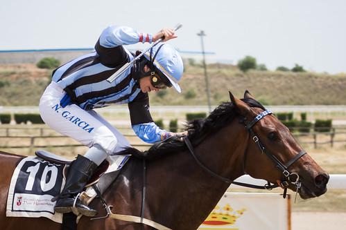 Primera jornada de carreras de caballos de primavera en mayo