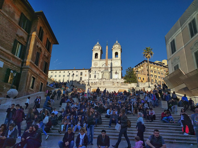 Piazza di Spagna (aka Spanish Steps)