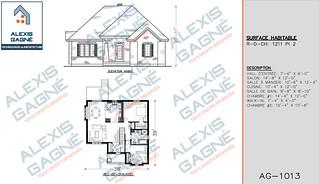 Plan de maison 1 étage - MM1e.07