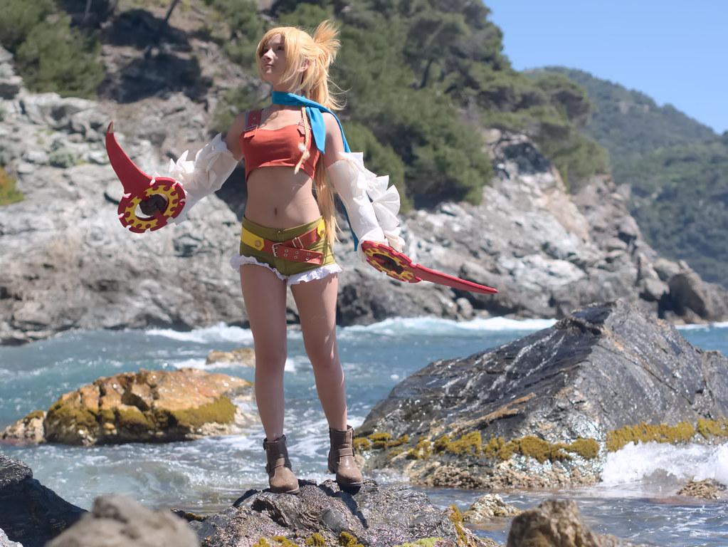 related image - Shooting Rikku - Final Fantasy X-2 - Calanque du Mont Salvat -2017-05-07- P2070128