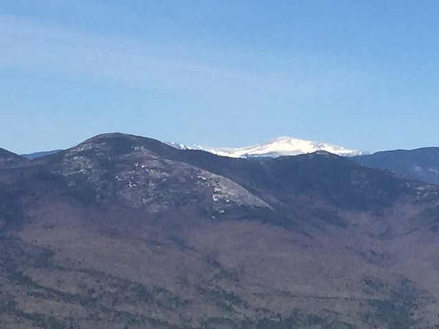 Mt. Washington, NH still snow covered in early May.  Photo Credit: USFWS