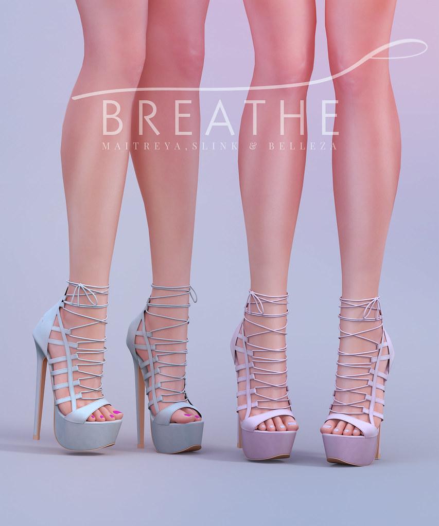 [BREATHE]-Lynn Heels - SecondLifeHub.com