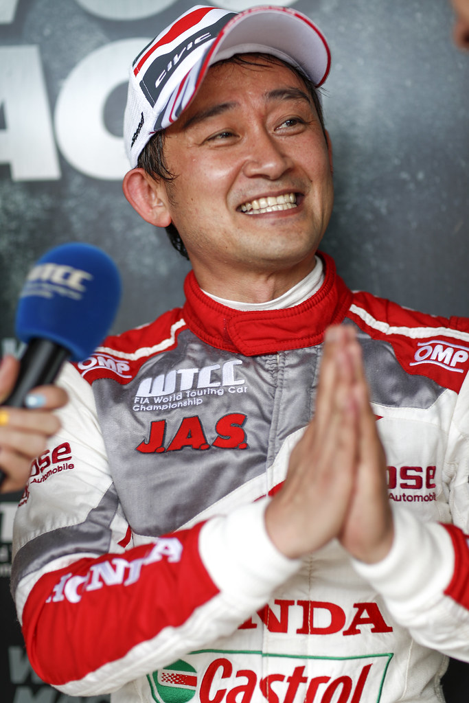 MICHIGAMI Ryo (jpn), Honda Civic team Honda racing team Jas, ambiance portrait   during the 2017 FIA WTCC World Touring Car Race of Hungary at hungaroring, Budapest from may 12 to 14 - Photo Frederic Le Floc'h / DPPI