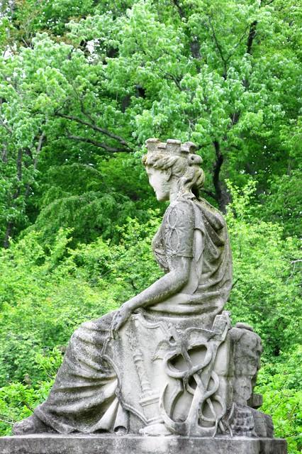 Cylburn Arboretum ~ Lady Baltimore statue
