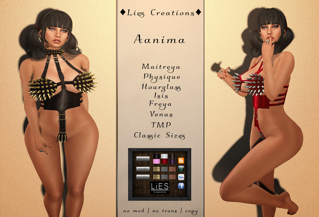 Aanima Dress w.HUD - SecondLifeHub.com