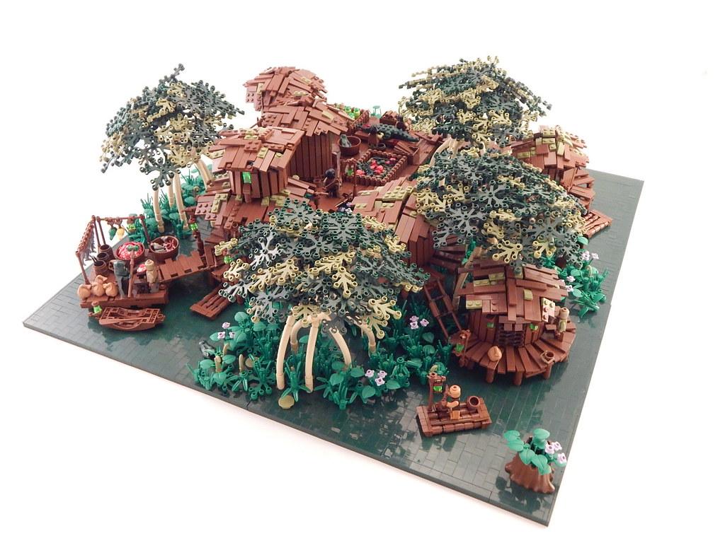 Green Abyss (custom built Lego model)