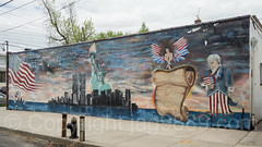 9/11 Memorial Wall Mural, City Island, Bronx, New York City