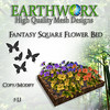 Fantasy Square Flower Bed Ad