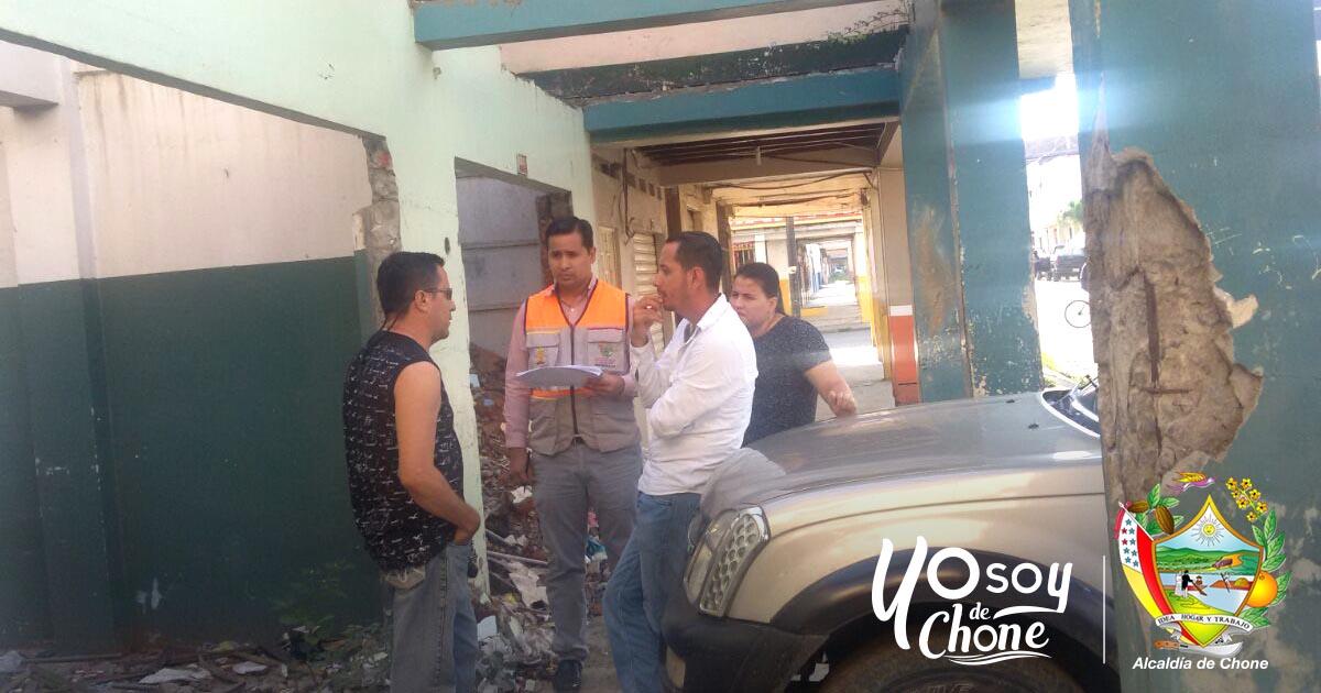 36 viviendas con afectaciones del pasado terremoto en Chone