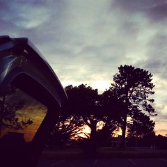 #manifestingthroughmay  Day 10/31 #dinner #car #picnic #sunset #celebration