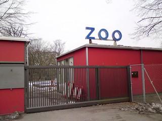 Zooeingang in Karlsruhe