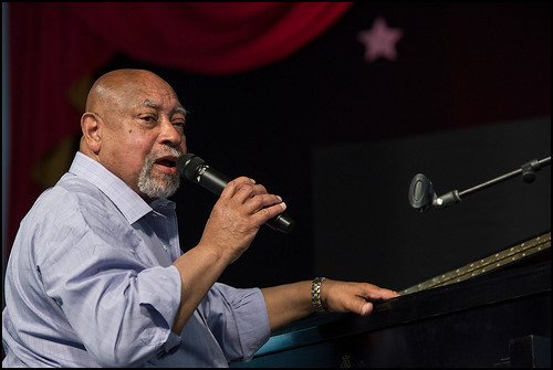 Kenny Barron Trio at Jazz Fest day 6 on May 6, 2017. Photo by Ryan Hodgson-Rigsbee www.rhrphoto.com