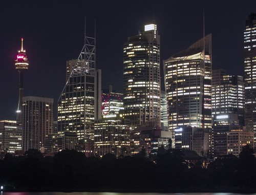 Sydney Cityscape Night Time | by publicdomainphotography
