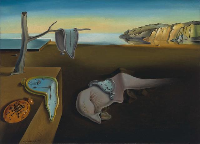 persistence of memory Dali MOMA