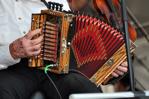 Goldman Thibodeaux's accordion