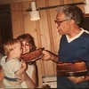 Mother's Day and also my grandfather's 86th birthday. Notice they're both feeding me cake starting a lifetime of trouble. #cakecakecake #mothersday #grandfather