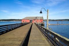 the dock in Coupeville, Washington