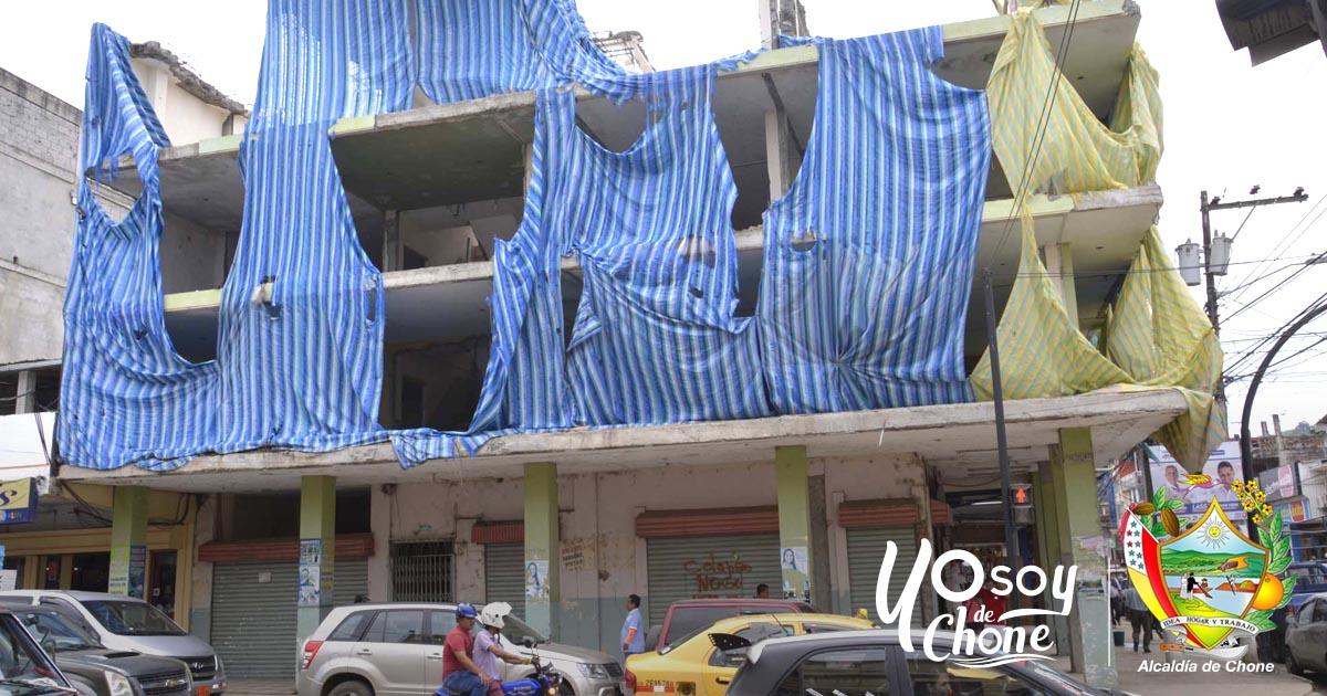 Continúa la socialización para el derrocamiento de viviendas afectadas por el terremoto
