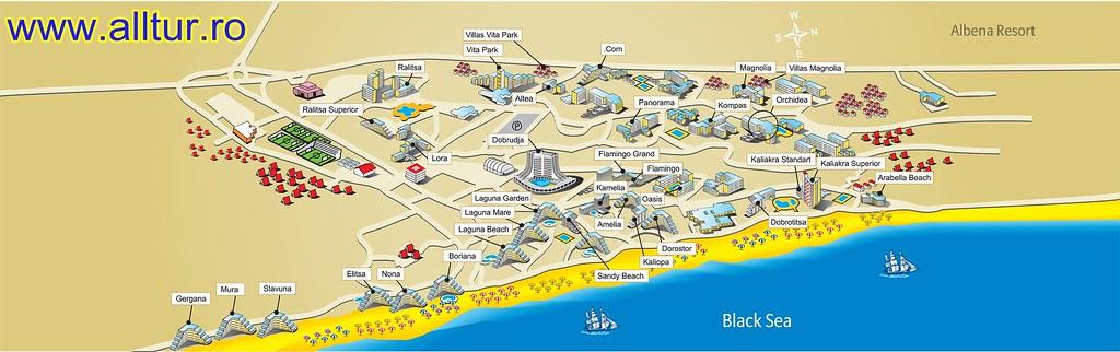 Harta Harta Albena