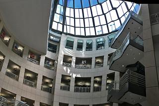 SF Public Library - Main branch Skylight