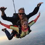 Tandem Student Katie and Her Instructor Art Farley